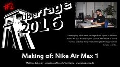 "ÜberTage 2016: ""Making of: Nike Air Max 1″ with Matthias Zabiegly"