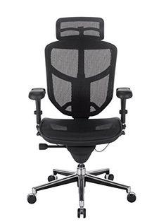 Workpro Pro Quantum 9000 Series Ergonomic Mesh High Back Chair With  Headrest, Black Http