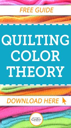 National Quilters Circle - Quilting Color Theory: How to Choose the Best Colors for Your Quilts Quilting Tools, Quilting Tutorials, Quilting Projects, Quilting Designs, Quilting Ideas, Rag Quilt, Quilt Blocks, Beginning Quilting, Quilting For Beginners