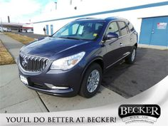 Becker Buick GMC's new 2014 Buick Enclave!