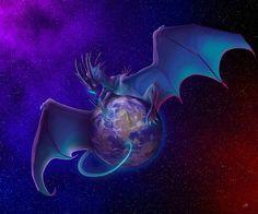 The blue planet by Leundra on DeviantArt