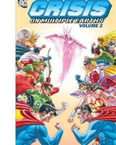 #Crisis #On #Multiple #Earths #vol #2  #comics #DC #quadrinhos #heroes #herois #Superman #WonderWoman #Hawkman #Wildcat #GreenArrow #Flash #RedTornado #digitalcomics #GreenLantern #HourMan #Robin #Batman