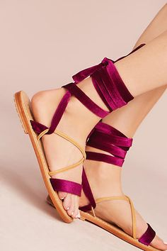 Mystique Wrap Gladiator Sandals