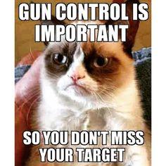 Grumpy cat knows best  #guns #control #grumpycat #saturday #countryrebel #countryrebelclothing