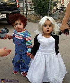 Chucky and Bride of Chucky - 2013 Halloween Costume Contest