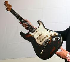 Jimi Hendrix's guitar from Monterey Pop Festival