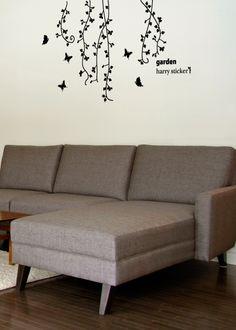 wallsticker garden Wallpaper interior Design