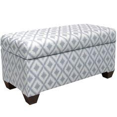 Skyline Furniture Ikat Upholstered Storage Bedroom Bench & Reviews | Wayfair