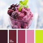 blackberry color, blackberry ice cream color, color combinations, color matching, color of blackberry, design color solution, greens color, shades of pink