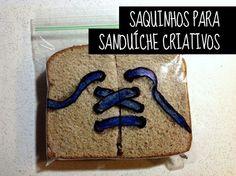 Saquinhos criativos para Sanduíche : http://mixidao.com.br/saquinhos-para-sanduiche/
