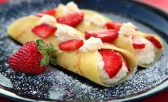Recetas y Postres Halal: Crepes dulces rellenos