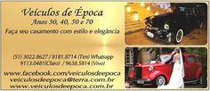 Veículos de Época Aluguel de Carro Porto Alegre Guia Festa