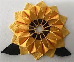 Fold n' Stitch Wreath Pattern