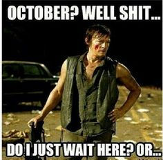 Daryl Dixon, The Walking Dead zombies LOL Merle Dixon Norman Reedus Walking Dead Funny, Walking Dead Zombies, Carl The Walking Dead, The Walk Dead, Walking Dead Quotes, Norman Reedus, Hot Men, Movies And Series, Dead Inside