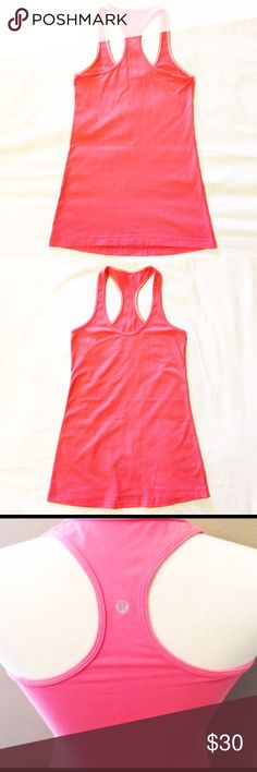 l u l u l e m o n - c r b - t a n k Lululemon CRB tank.  Grapefruit color,  size 6.  No size tag.  But I have done lots of measuring to make sure.  I accidentally ordered this and it's too big for me 🙁. lululemon athletica Tops Tank Tops