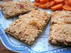 Jednoduchá pomazánka z tofu od Andie. Tofu, Tzatziki, Banana Bread, Low Carb, Lunch, Dinner, Recipes, Sport, Cookies