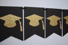 Graduation Banner Graduation Bunting Graduation Garland - Decoration For Home Graduation Party Desserts, Graduation Crafts, Graduation Party Planning, Graduation Banner, Kindergarten Graduation, Graduation Decorations, Grad Parties, Graduation Ideas, Deco Cupcake