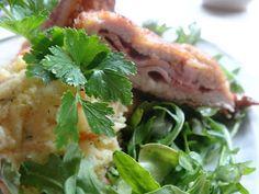 Czary w kuchni- prosto, smacznie, spektakularnie.: Pomysł na schab z pasta ziemniaczaną Nasu, Chicken, Meat, Food, Essen, Meals, Yemek, Eten, Cubs