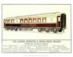#Pullman #Car #Duchess of #Norfolk #Vintage #Rail #Railway #Train #Poster #Posters #Prints #Print #Art #UK #Britain #British #Old #Travel #Norfolk www.vintagerailposters.co.uk