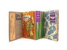 Four Japanese Haiku Books Illustrated by seasidecollectibles