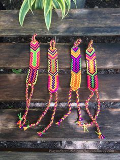 Friendship Bracelet made by the Indigenous Wayuu by loveandlucky, $3.99