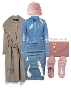 """""""Untitled #3079"""" by stylebydnicole ❤ liked on Polyvore featuring Yves Saint Laurent, Zara, House of Holland and Frame Denim"""