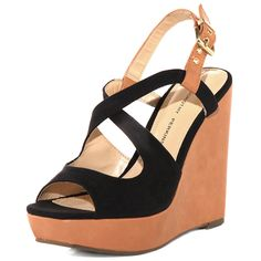 Black and tan wedges, Dorothy Perkins, £38