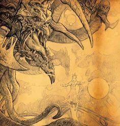The Incarnation of Evil, Tathamet Illustration