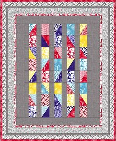 Modern Mixers II - Quilt #1 by