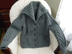 My favorite cardigan-this one for my sista! Dark grey is very attractive.