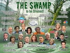 DRAIN THE SWAMP                                                                                                                                                                                 More