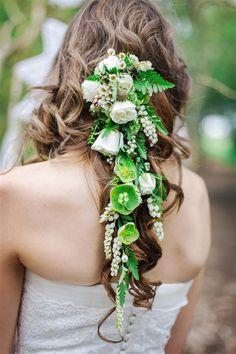 Floral updos