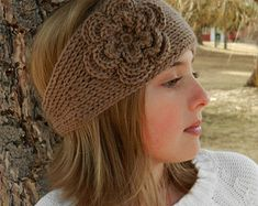 Easy Crochet headband pattern 6 headbands and por TwoGirlsPatterns