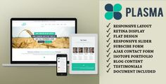 Plasma - One-Page Multi-Purpose HTML Template . Plasma is a fully responsive one-page HTML template or Creative Page html template is easily usable with any device (Desktop, tablet, mobile phone…), without removing any content!.Plasma is a responsive html template that modest for your Business , Portfolio and your website agency that you can be