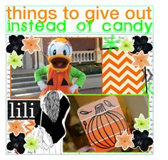 """things to give out instead of candy"" by aloha-tip-girls ❤ liked on Polyvore featuring art"