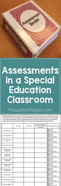 Learn how to create a system for organizing your assessments now so you can have data at the start of the year & get at true baseline o. Teacher Organization, Teacher Tools, Teacher Resources, Organizing, Teacher Stuff, Resource Teacher, Autism Resources, Classroom Resources, Organization Ideas