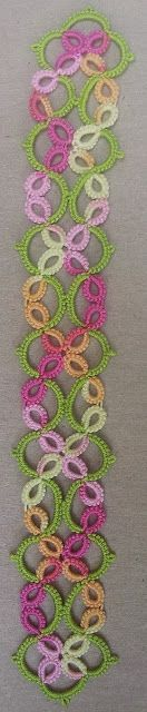 Tatting Between Words: Tatting fun and some knitting finally done!