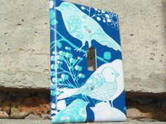 Blue Birds Light Switch Plate Cover by IamTamCreates on Etsy, $7.00