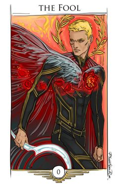 "So…22 cards in Tarot Main Arcana. Starting with Darrow as ""The Fool"" ""Red Rising"" by @pierce-brown)"
