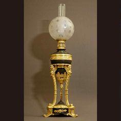 Grande Lampe à l'Athénienne XIXème