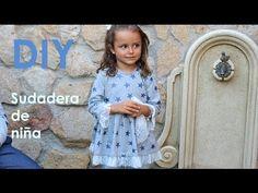 Blusa de niña con el bajo asimétrico. Patrones infantiles. - YouTube