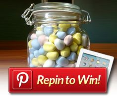 Pinterest Repin to WIN a 3rd generation iPad
