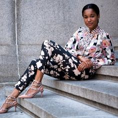 #TamuMcpherson wears our #FW12 pants. #SUNONY