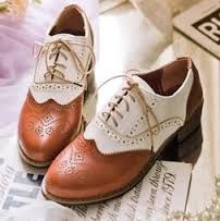 Image result for ladies oxford brogues