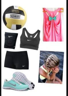 Volleyball outfit minus the French braid because no French braids allowed # Braids for sports cheer Beach Volleyball, Volleyball Practice, Volleyball Outfits, Volleyball Team, Cheerleading, Volleyball Uniforms, Basketball Outfits, Softball Hair, Volleyball Shorts