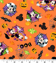 100/% Cotton Patchwork Fabric Springs Creative Disney Mickey /& Friends Racers