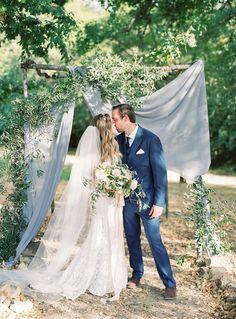Read More: https://www.stylemepretty.com/2018/02/07/organic-and-lush-tuscan-wedding/