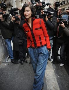 I adore Anna Mouglalis, and this picture.