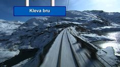 Train Norway - Bergens Banen 2/6 HD - without the long tunnels