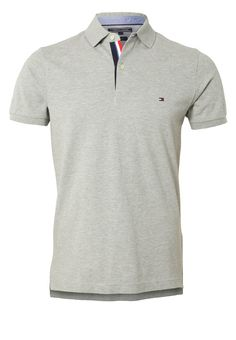 Tommy Hilfiger - SLIM FIT - Polo - cloud heather